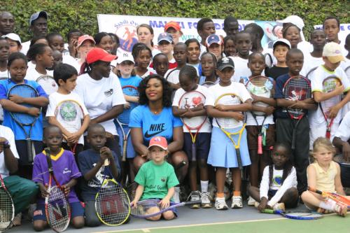 Serena Kids Group Photo Africa