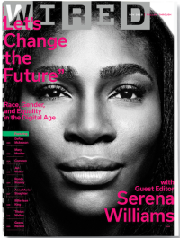 Serena Wired COVER Photo