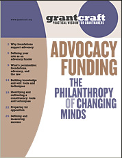 GrantCraft Advocacy Guide