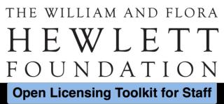 William and Flora Hewlett Foundation Toolkit