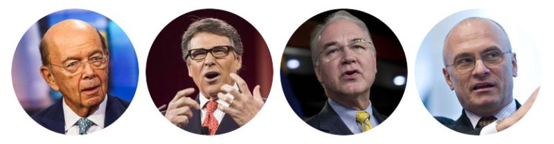 Explore Eye on the Trump Cabinet