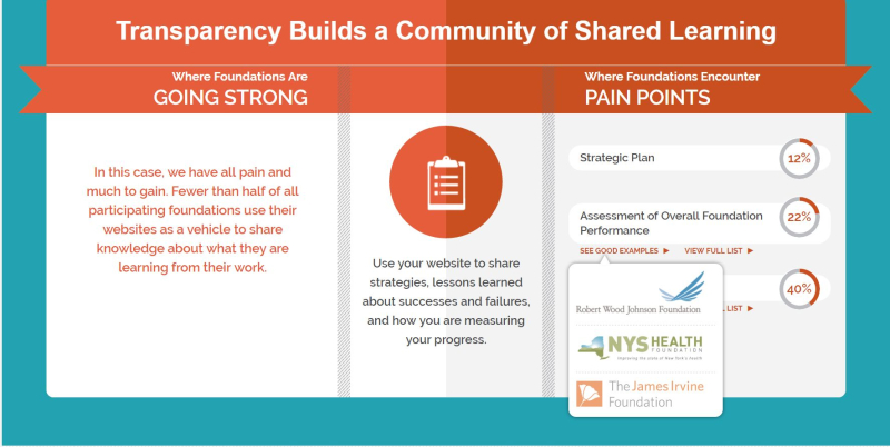 Transparency Challenge - Shared Learning Infographic